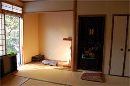 軽量鉄骨の家をリフォーム 和室の解体前