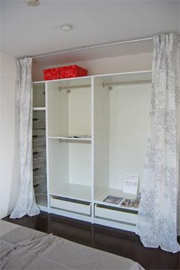 マンションリフォーム IKEA 収納家具オープン時