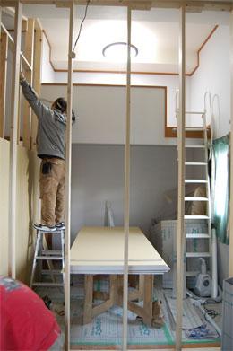茨木市 子供部屋の間仕切り工事