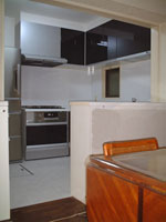 茨木の工務店アラキ建設、マンションキッチンリフォーム